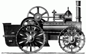 Locomotive - Improved road locomotive