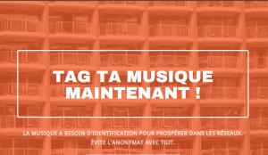 Tag ta musique - Page d'accueuil de TGiT