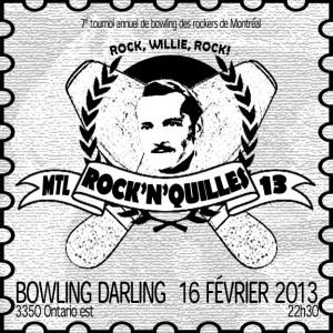 7e tournoi annuel de bowling des rockers de Montréal